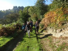 Bishop's Castle, September 2015 - Enjoying the scenery and the sunshine on the Shropshire Way